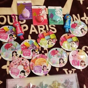 Disney Lip balm/kids face sheet mask/lipbalms